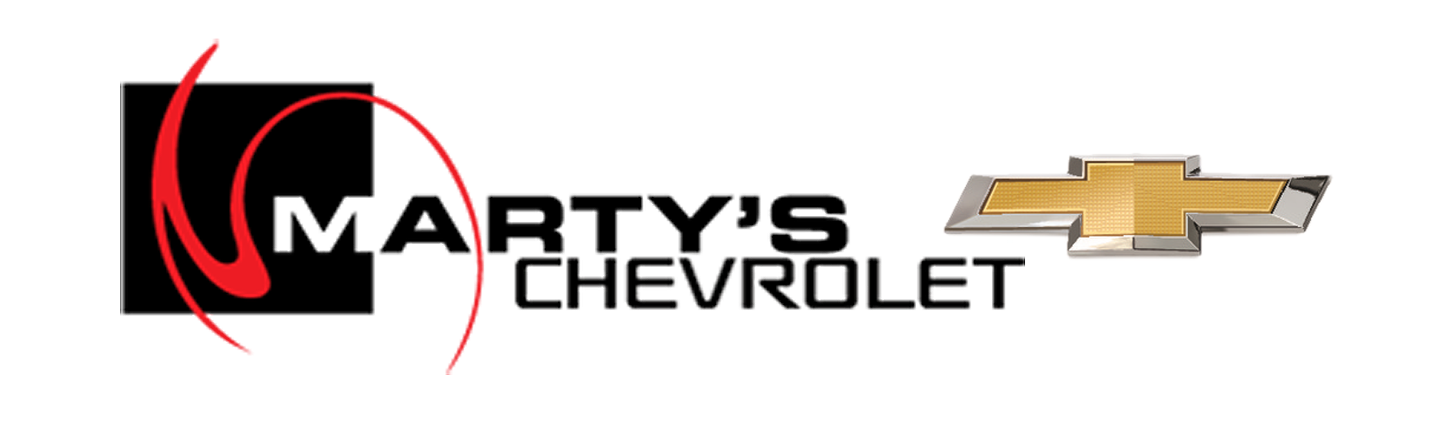Martys Chevy Vector Clean New Bowtie Black